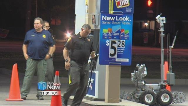 he Allen County Bomb Squad was called out to an east side Lima business tonight.