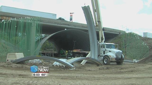 The completion for this bridge project is expected to coincide with the 2020 deadline of the entire I-75 project.