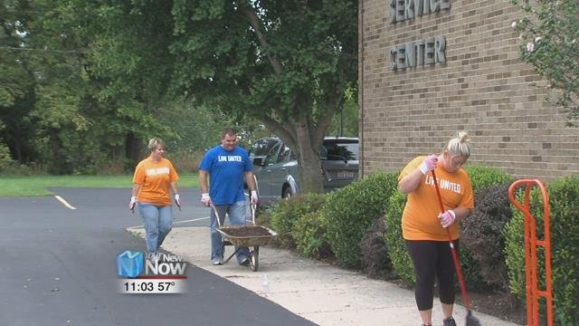 The United Way of Greater Lima kicks off their second annual Day of Caring.