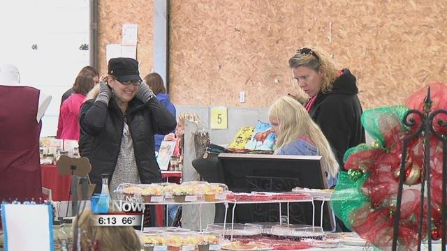 People got the chance to shop for decorations, food and other items from one of the many vendors that took part.