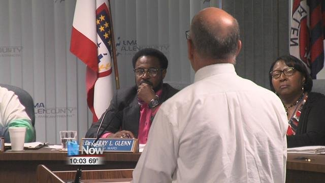 Mike Caprella gave an update on the wastewater treatment plant after being struck by lightning in July.