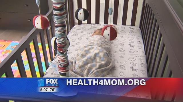 You can log on to Health4mom.org for more tips on how to keep your baby safe when you put them to sleep.