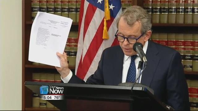 DeWine says when Ohio wins the lawsuit, the five drug companies will not only pay to help battle the addiction problem, but he hopes they agree to be part of the solution and stop their deceptive practices.
