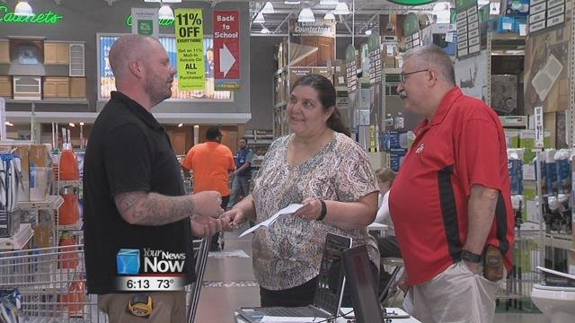 Menards has invited local contractors into the store to help educate those interested in home improvement ideas and projects.