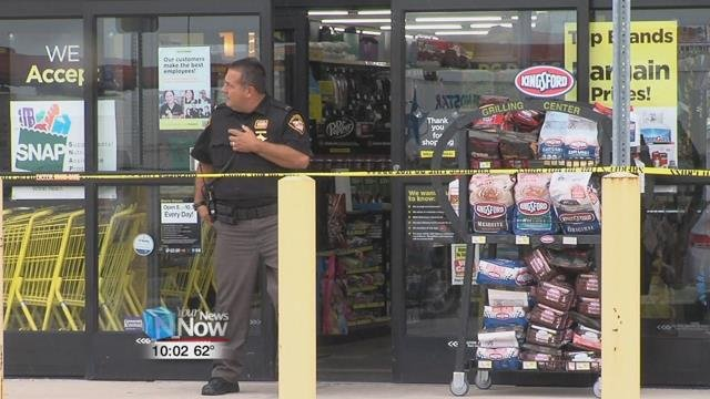 What officials will confirm is that shots were fired inside the store, during the robbery, which happened just after 4 o'clock Wednesday afternoon.