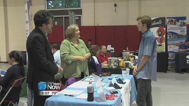 It was the annual Fall Job and Internship Fair at the Lima campus.