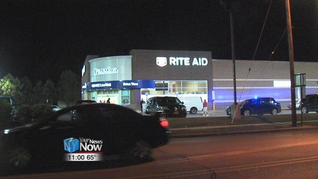 Lima police are on scene investigating an armed robbery at the Rite Aid Pharmacy at the corner of Robb and West Street.