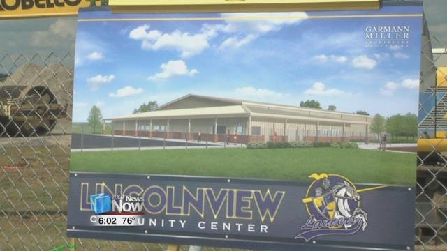 The community center is expected to be completed in May of 2018.