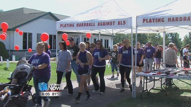 Playing Hardball Against ALS or PHAALS foundation held their 5th annual golf outing and walk at the Pike Run Golf Course today.