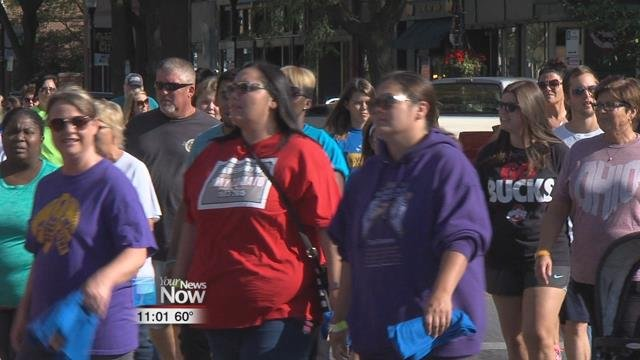 A lot of the people that took part in the 11th Annual Suicide Awareness and Prevention Walk were there to honor friends and family who took their own lives.