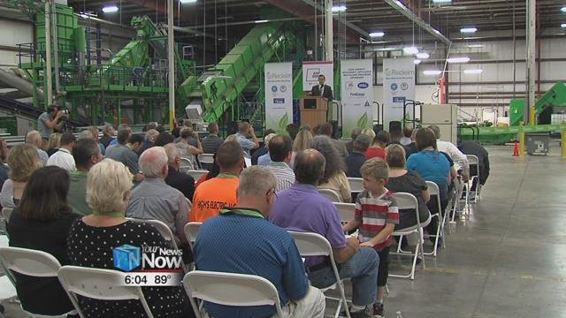 Officials from all over the state celebrated the opening of the third Recleim facility in the nation right here in Beantown Tuesday morning.