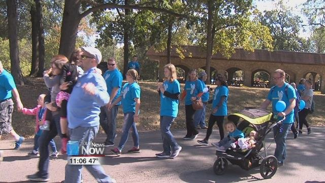 The Buddy Walk is put on in Lima by the Down Syndrome Association of Western Ohio, and is just one of many Buddy Walks that are put on throughout the country.