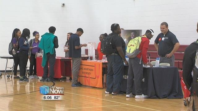Lima Senior hosted over a dozen organizations at their annual career fair Tuesdayto keep students informed about their options when they graduate.