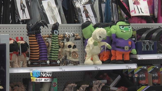 The National Retail Federation says around 179 million Americans will be celebrating Halloween this year and they'll also be spending more.