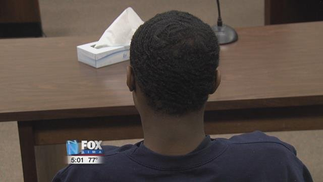 15-year-old Rakeem Jones appeared before Judge Glenn Derryberry at the Allen County Juvenile Court.