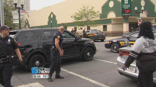 Lima Police Department was called out to the south side of Lima Senior for a large fight.