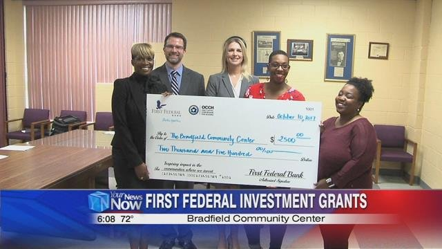 First Federal believes this is their commitment to strengthen the fabric of the community.