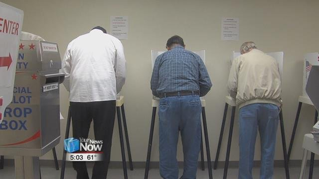 Early voting begins for upcoming Nov.7 general election