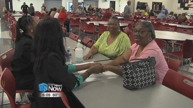 350 grandparents attended Wednesday's event which is in its 11th year.