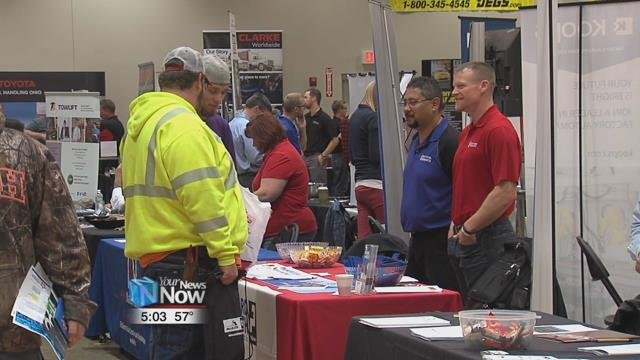 The fair was open to all UNOH students and alumni who are looking for jobs in automotive technology, robotics, and in diesel technology fields.