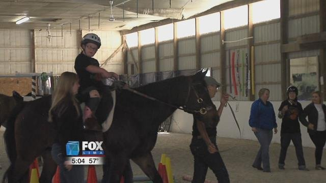 The yearly event is held to help raise money for the Equestrian Therapy Program, which provides activities and therapies for the disabled in the Lima area.