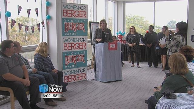 The Women for Berger group is made up of more than 100 women that decided to show their support for Mayor Berger.