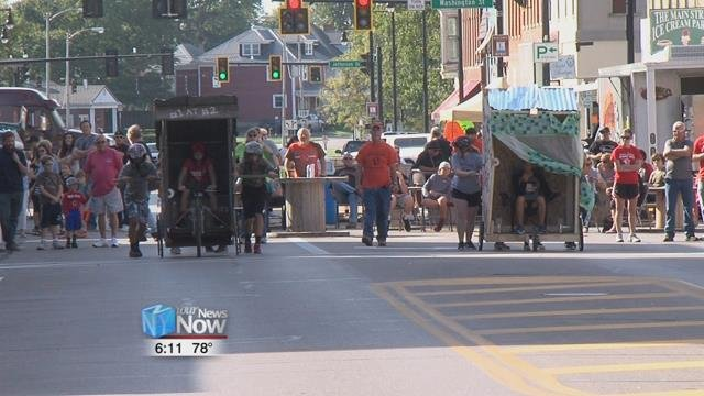 The Main Street Van Wert holds the annual harvest moon festival for the community to come together and have fun.