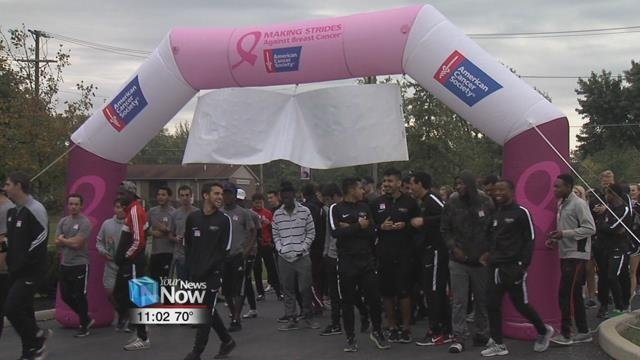 The Lima walk is part of a national event that is put on by the American Cancer Society