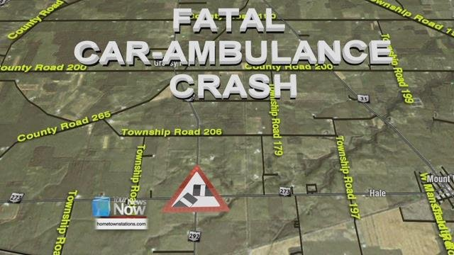 Ohio EMT dies after vehicle crashes into ambulance