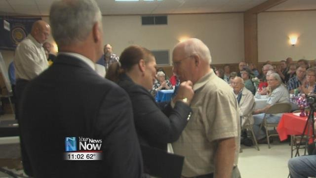 400 people attended the third annual Putnam County Veteran of the Year Recognition Dinner.