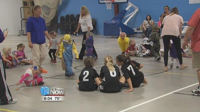 Bluffton Family Recreation hosted the all-ages Halloween party from 1-3 on Sunday