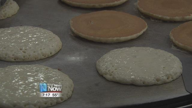 The Lima Noon Sertoma hosted their 61st annual Pancake Day at Lima Senior High School.