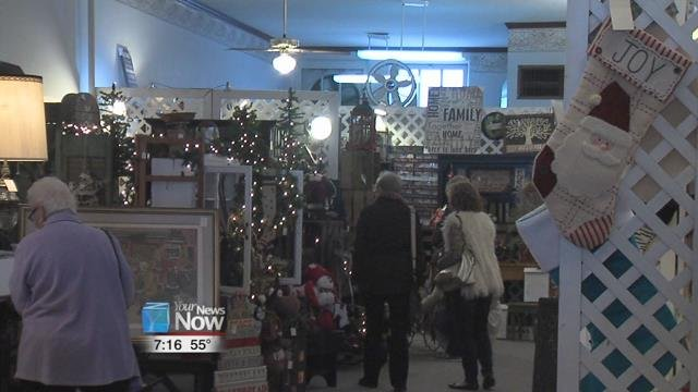 The Home for the Holidays event is held by the Wapakoneta Antique and Specialty Shops and features businesses opening up their doors with Christmas items galore for shoppers to take advantage of before the big holiday rush.