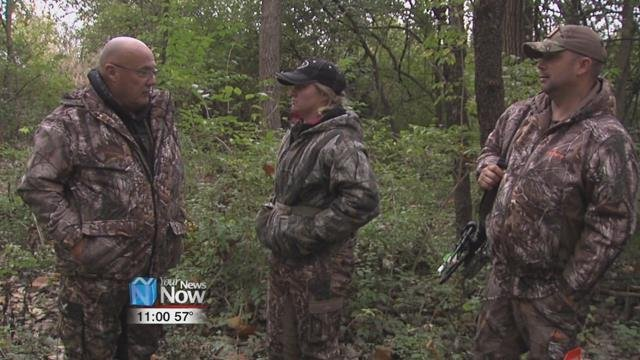 Hunting with Heroes put on their 9th annual Veterans with Disabilities Bow Hunt Saturday. Disabled vets were set up across Lima ready and waiting for deer.