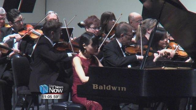 The Lima Symphony Orchestra put on their Pursuits of Passion concert Saturday night.