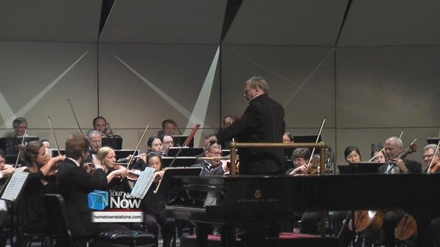 Gerhardt Zimmerman grew up in Van Wert and has been the conductor of the Canton Symphony for 37 years.