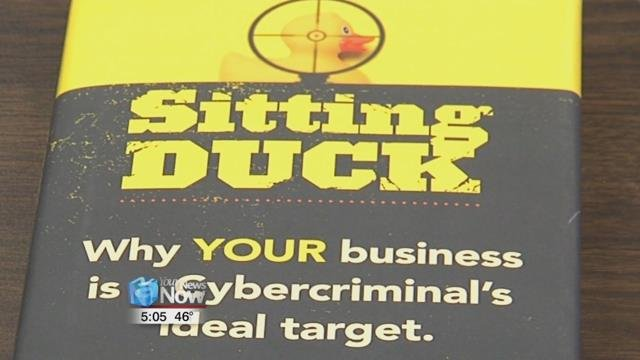 """The book is called """"Sitting Duck"""" and is a collaboration of sixteen different experts in the field of technology."""