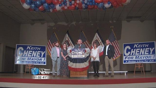 Keith Cheney says that he wishes Mayor Berger the best of luck at making Lima the best that it can be, and that he had a few encouraging words for his supporters and about his campaign overall.