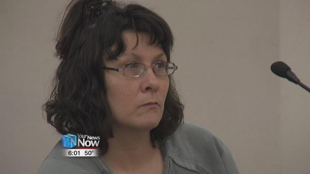 38-year-old Crystal Kindle appeared in Allen County Common Pleas Court.