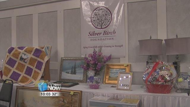 Both a silent and a live auction were held with items such as golf packages and gift baskets.