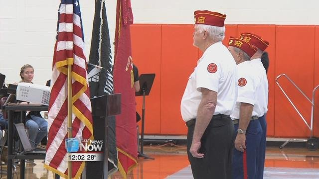 The event has continued to grow since it started, as they recognized around 100 veterans on Friday.