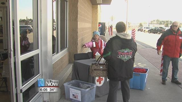The Red Cross in Ottawa is collecting goods and money for their holiday gift boxes to be sent to Putnam County active duty military.