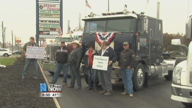 The drivers protesting also feel that they are being left behind by government in favor of big businesses.