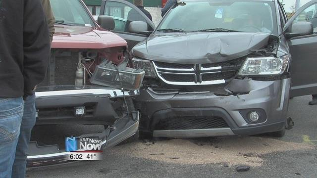 A two vehicle accident closed a portion of Cable Road in front Walgreens near the Allentown Road intersection.