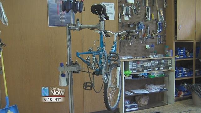 Local churches are stepping in to help get bicycles to people in need.