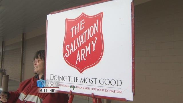 Salvation Army kicks off Red Kettle Campaign