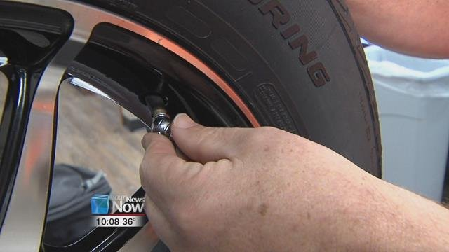 Cooper Tire out of Findlay wants motorists to know they should inspect their tires monthly.