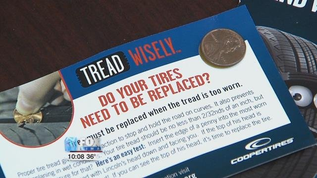 """Cooper has also developed an app called """"Tread Wisely"""" geared toward young drivers from the age of 15 to 25."""