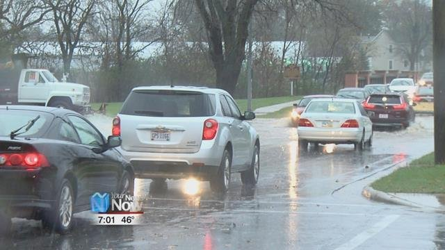 Law Enforcement is urging motorist to avoid high water on the roads as flood waters rose in low lying areas.