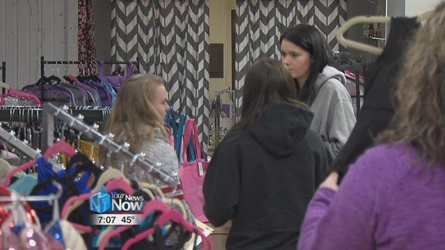 Downtown Lima Inc. held their first ever shopping weekend.
